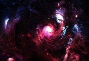 вселенная, планеты, свечение, невесомость, галактика