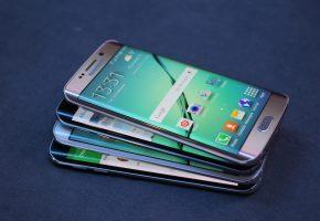 Samsung, Galaxy, S6, Edge, Phone, Телефон