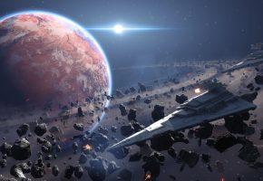 космос, star wars, battlefront, Electronic Arts, Space, игра, Star Destroyer, Звездный Разрушитель