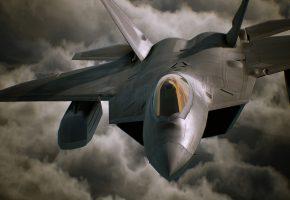 Ace Combat, aircraft, game, самолет, полет, военный, оружие