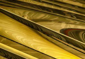 абстракция, фрактал, узор, отражение, фигура, 3Д
