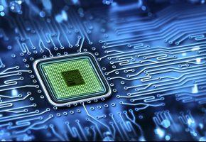 microchip, микросхема, processor, плата, дорожки, процессор, technology