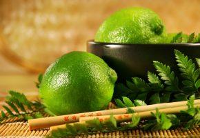 фрукты, еда, цитрус, лимон, лайм