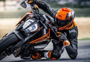 Duke, мотоцикл, шлем, байкер