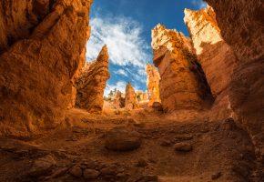 горы, национальный парк, сша, ущелье, юта, Брайс-каньон, скалы