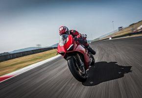 Скорость, Фары, Трасса, Ducati, Спортбайк, V4 S, Ducati Panigale V4 S