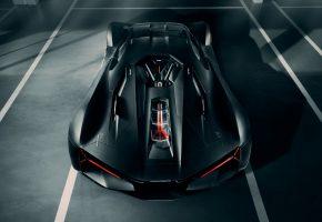 Lamborghini, электромобиль, Terzo Millennio, спорткар
