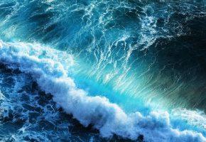 пена, волна, море