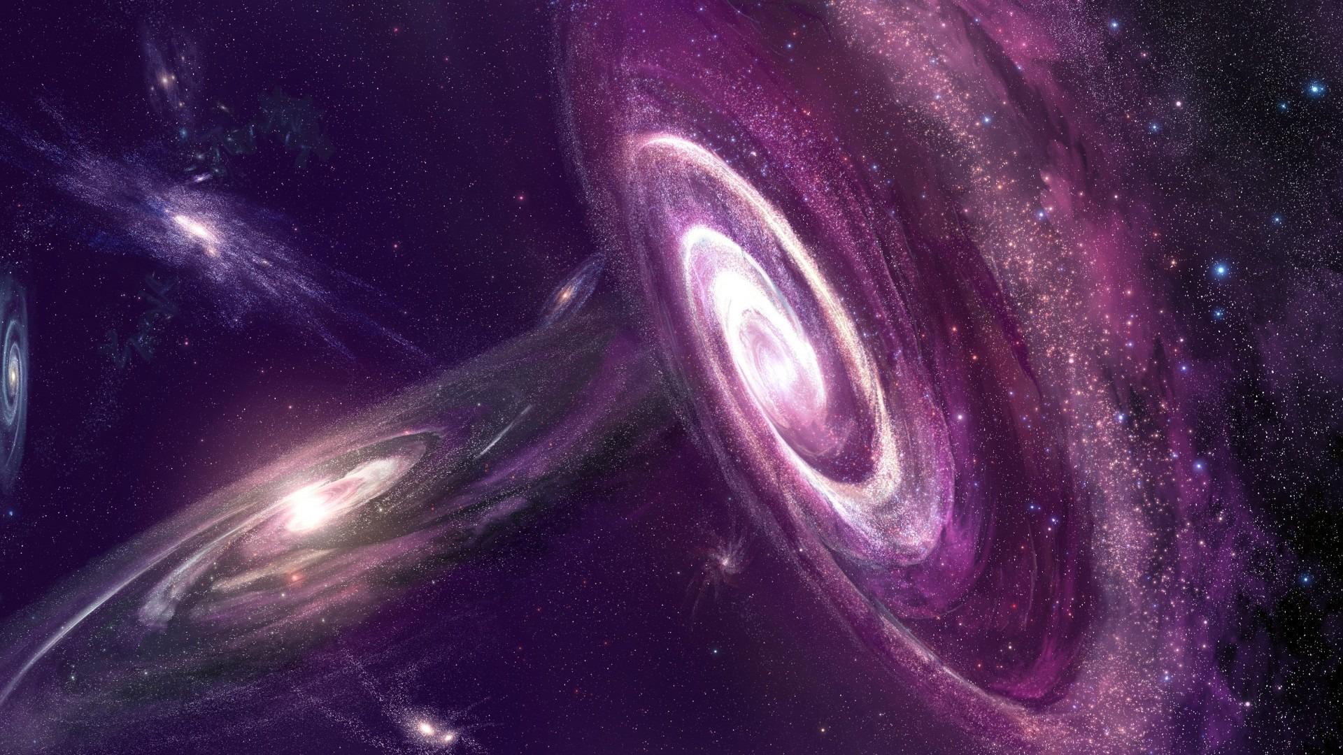 Обои Бездна, пустота, планеты, туманность. Космос foto 8